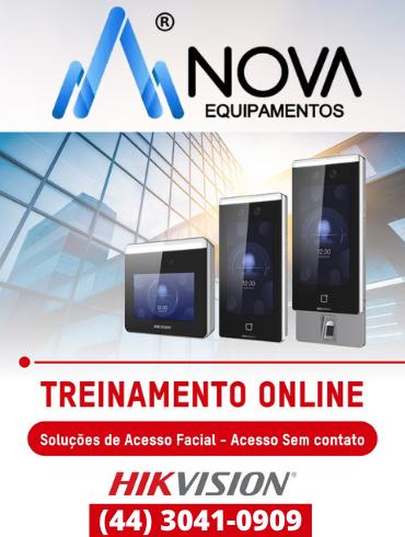 Terminais de Reconhecimento Facial + Termográfica + Máscara MinMoe Hikvision